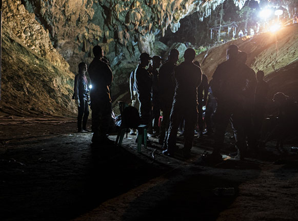 Getting The Boys Out Tham Luang Cave Rescue X Ray Mag