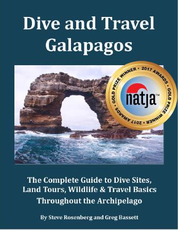 Dive and Travel Galapagos book cover