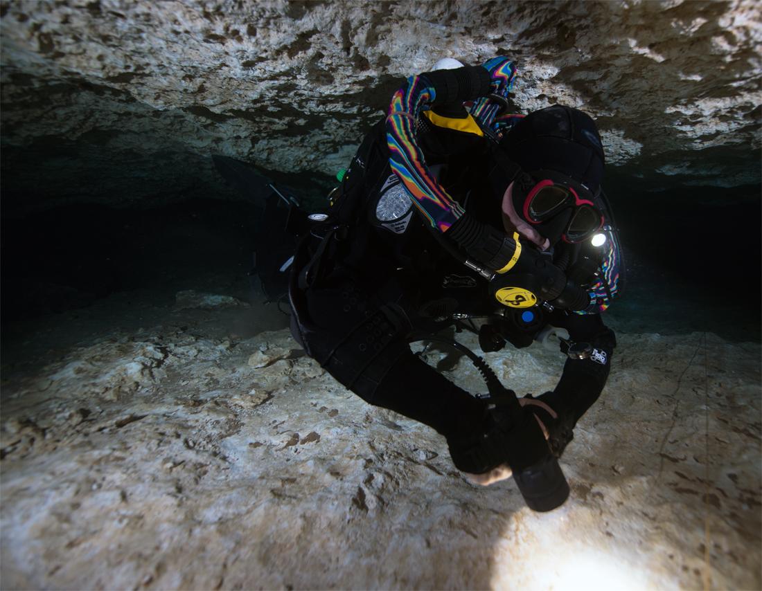 Cave Diving & CCR -- Bailout Gas