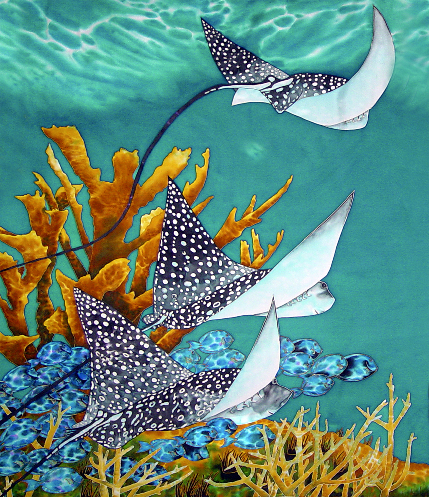 Daniel jean baptiste portfolio x ray mag for Sea life paintings artists