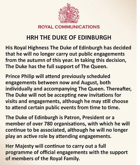 Prince Philip, Champion of British Scuba Diving, To Retire