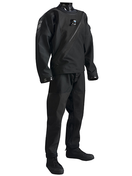 DUI Flex Extreme drysuit. Photo courtesy of the manufacturer.